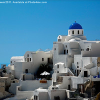 Buy canvas prints of Oia, Santorini, Greece by Keith Towers Canvases & Prints