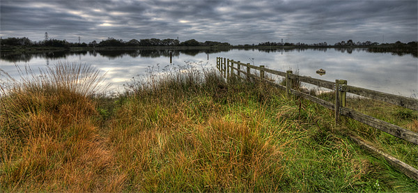 Autumn at Penyfan Pond Canvas Print by Steve Purnell