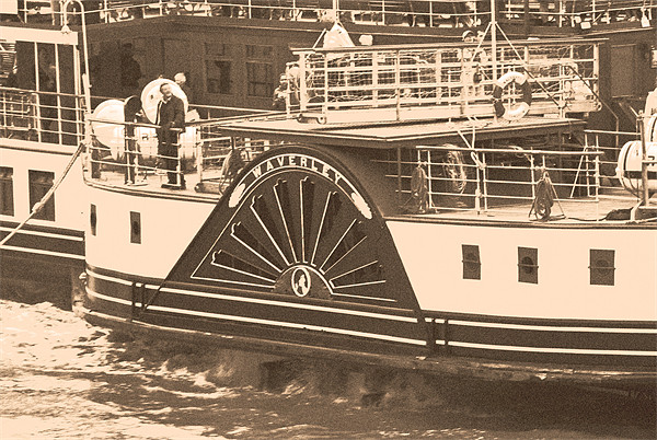 Waverley Paddle Steamer Canvas print by Steve Purnell