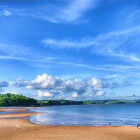 Buy canvas prints of Saundersfoot Beach 2 by Steve Purnell