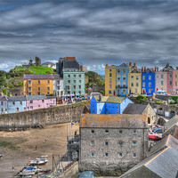 Buy canvas prints of Tenby Harbour 3 by Steve Purnell