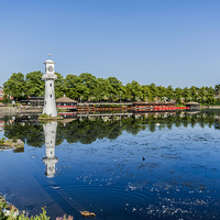 Buy canvas prints of Roath Park Lake 4 by Steve Purnell