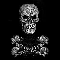 Buy canvas prints of Skull And Crossbones by Steve Purnell