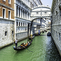 Buy canvas prints of Under The Bridge Of Sighs by Steve Purnell