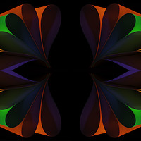 Buy canvas prints of Folded 2 by Steve Purnell