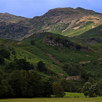Buy canvas prints of Pathway to Easedale Tarn by Roger Green