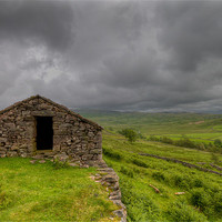 Buy canvas prints of Miners Cottage by Roger Green