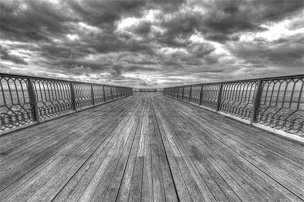 St Anne's Pier Canvas print by Roger Green