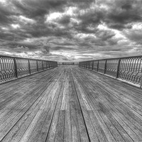 Buy canvas prints of St Anne's Pier by Roger Green