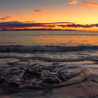Buy canvas prints of Sunset Over Fuerteventura by Roger Green