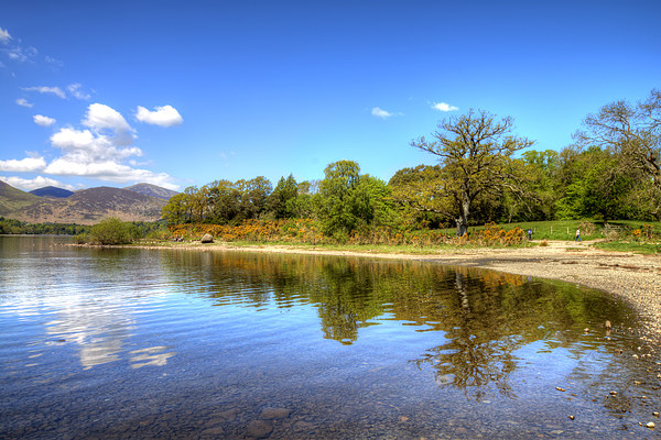 Derwentwater Canvas Print by Roger Green