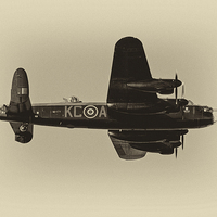 Buy canvas prints of Avro Lancaster by Roger Green