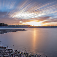 Buy canvas prints of Carsington Water at Sunset by Roger Green