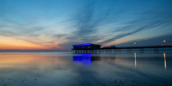 Southport Pier Canvas print by Roger Green