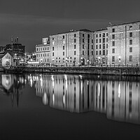 Buy canvas prints of Canning Dock in Liverpool by Roger Green