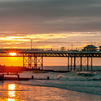 Buy canvas prints of Sunset Cromer by Gary Rayner