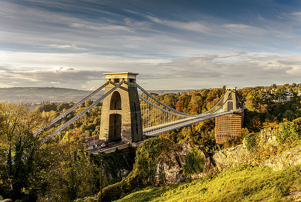 Clifton Suspension Bridge Canvas Print by Gary Rayner