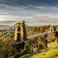 Buy canvas prints of Clifton Suspension Bridge by Gary Rayner