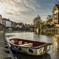 Buy canvas prints of Dingy at Norwich Quay by Gary Rayner