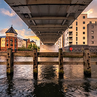 Buy canvas prints of Dawn in Norwich by Gary Rayner