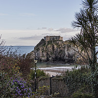 Buy canvas prints of  St Catherines Island, Tenby.  by Becky Dix