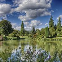 Buy canvas prints of  An English Country Garden by Rus Ki
