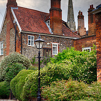 Buy canvas prints of Ferry Lane, Lower Close, Norwich by Rus Ki