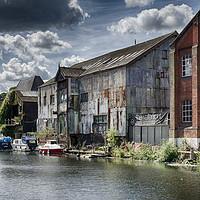 Buy canvas prints of Waterfront, Norwich by Rus Ki