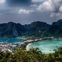 Buy canvas prints of Phi Phi Viewpoint by Rus Ki