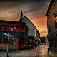 Buy canvas prints of Pottergate at Dawn by Rus Ki