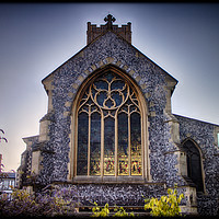 Buy canvas prints of St Giles Church on the Hill, Norwich by Rus Ki