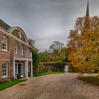 Buy canvas prints of Bishop's House, Norwich by Rus Ki