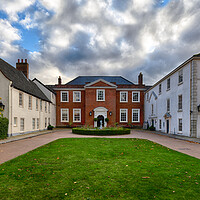 Buy canvas prints of Assembly House, Norwich by Rus Ki