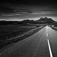Buy canvas prints of the road to Torridon by Dorit Fuhg