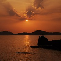 Buy canvas prints of Phu Quoc Sunset by Claire Clarke