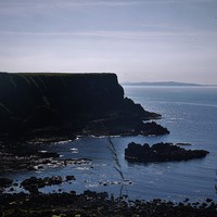 Buy canvas prints of Giants Causeway Trail by Claire Clarke