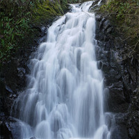 Buy canvas prints of Glenoe Waterfall, Carrickfergus, Northern Ireland by Claire Clarke