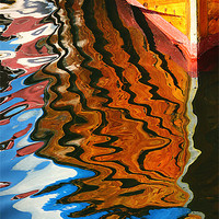 Buy canvas prints of Wooden Reflections III by Paul Causie
