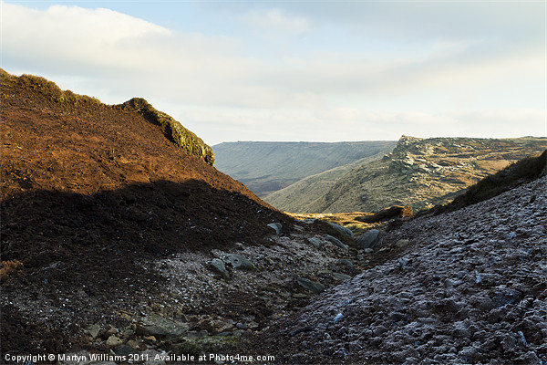 Kinder Scout Canvas print by Martyn Williams