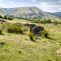 Buy canvas prints of Vale Of Edale, Derbyshire by Martyn Williams