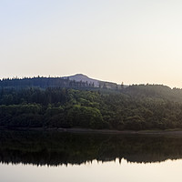Buy canvas prints of Ladybower Reservoir And Win Hill by Martyn Williams