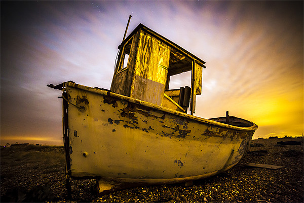 Dungeness Boat Canvas print by jordan whipps