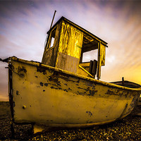 Buy canvas prints of Dungeness Boat by jordan whipps