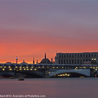 Buy canvas prints of Blackfriars and beyond by www.jwardphotography.com James Ward