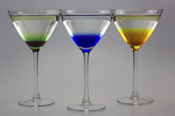 Colourful Cocktails Canvas print by www.jwardphotography.com James Ward