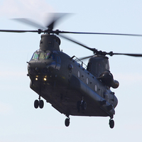 Buy canvas prints of  RAF CH-47 Chinook by www.jwardphotography.com James Ward