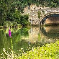 Buy canvas prints of River Coquet and Warkworth Bridge by Beyond the Borders UK