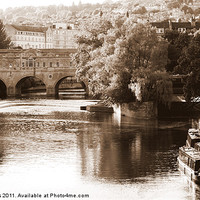 Buy canvas prints of Pulteney Bridge by zoe jenkins