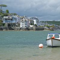 Buy canvas prints of Across Salcombe estuary by Stephen Wakefield