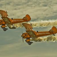 Buy canvas prints of  Breitling Bi Planes by Paul Fairman